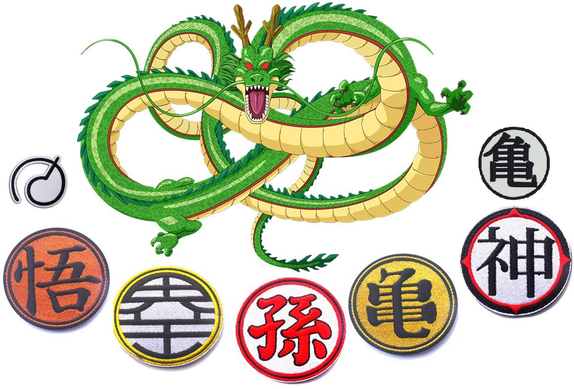 símbolos de Dragon Ball