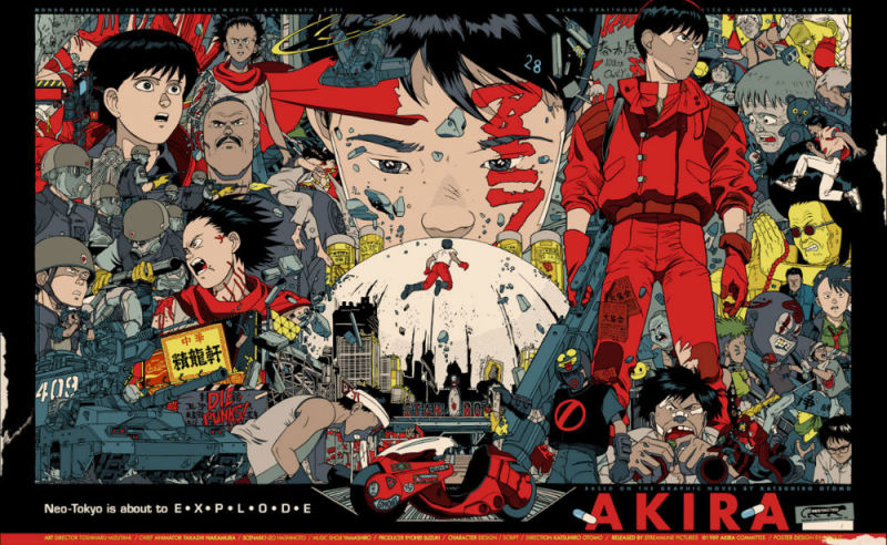 Akira. Cyberpunk. Géneros del anime