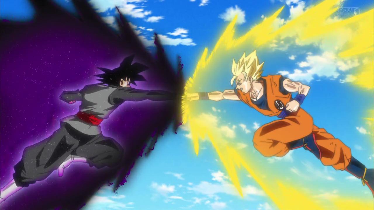 Goku Black Ssj Rose Para Colorear