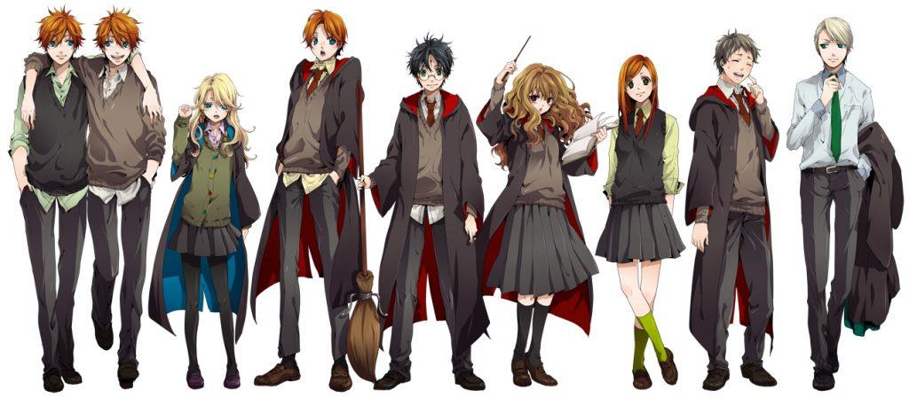 Harry Potter en anime. Géneros del anime