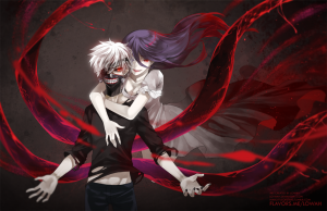 Rize y Kaneki