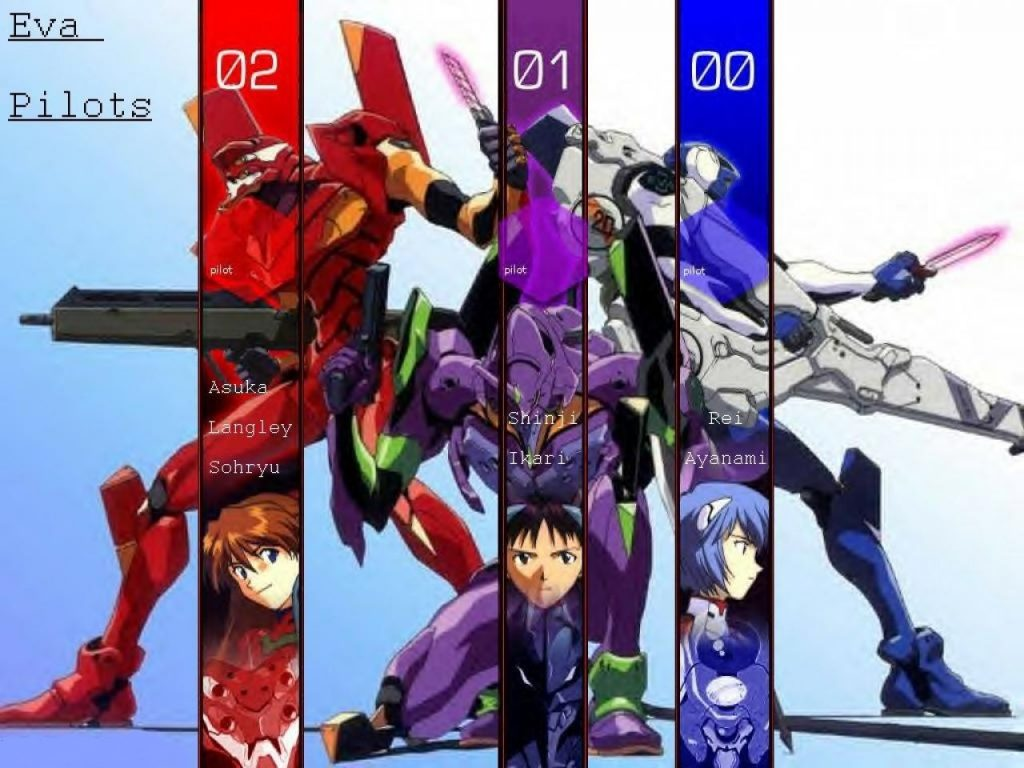 Mecha biológico, Neon Genesis Evangelion. Géneros del anime