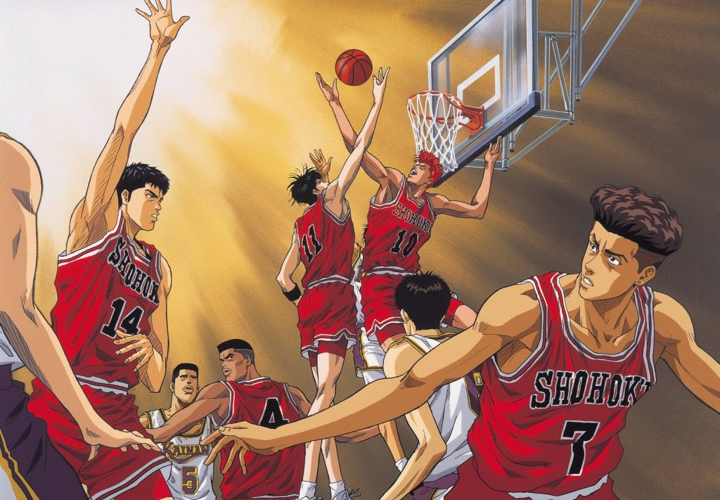Spokon. Slam Dunk. Géneros del anime