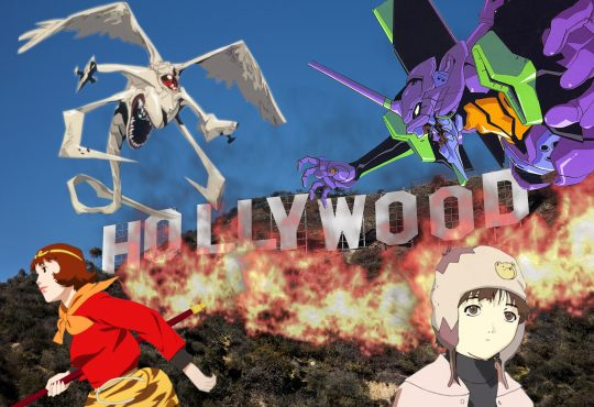 Anime que inspira a Hollywood