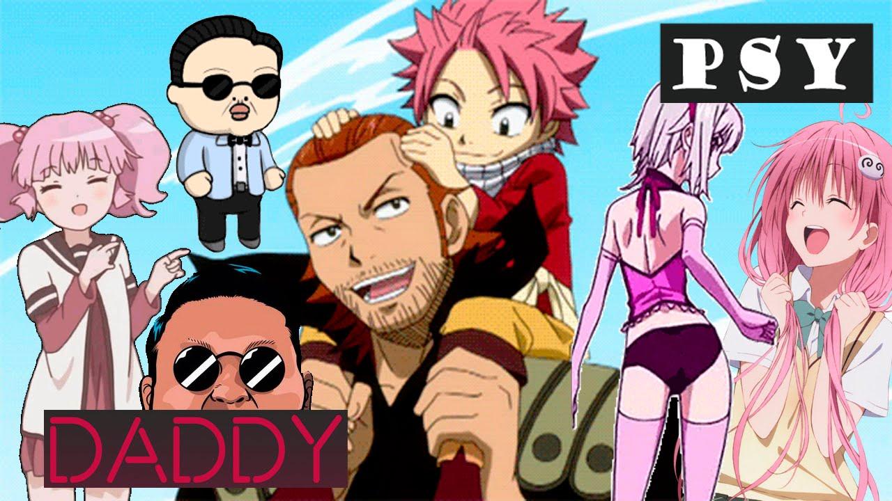 Daddy PSY Anime