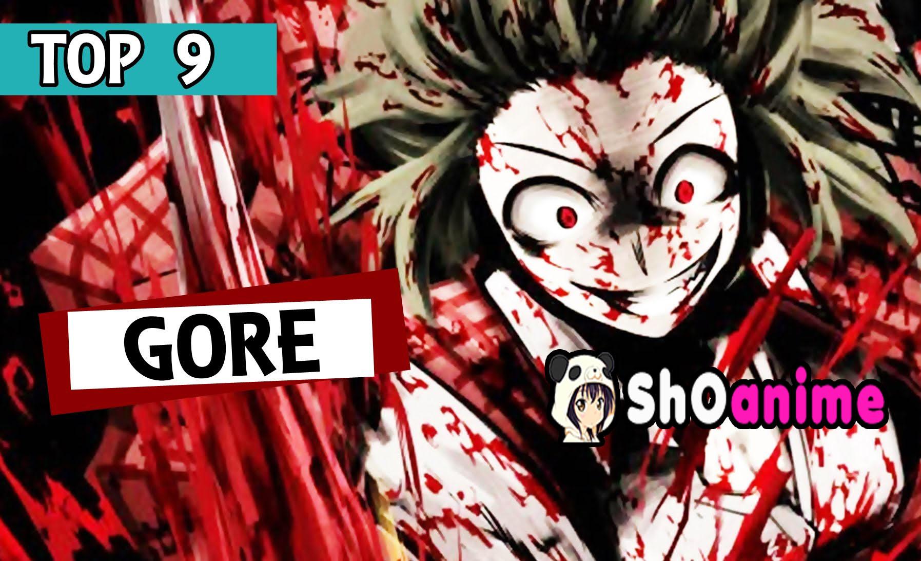 u00a1los 9 mejores animes gore