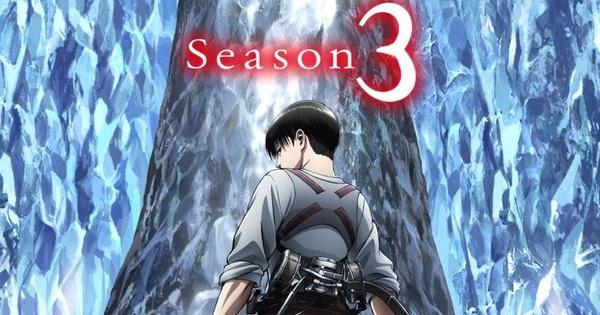 shingeki no kyojin tercera temporada