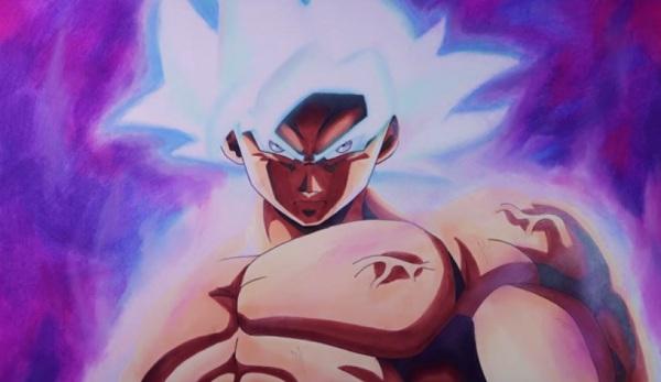 Colorear Goku Goku Ultra Instinto Dominado Para Colorear: Cómo Dibujar A Goku Ultra Instinto Dominado