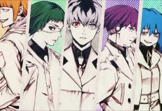 Opening Tokyo Ghoul: re