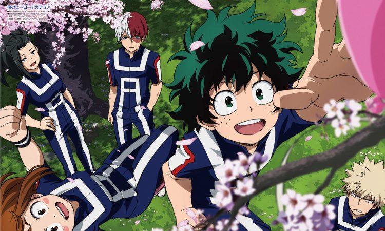 Boku no Hero Academia cuarta temporada