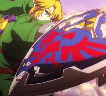La Leyenda de Zelda anime