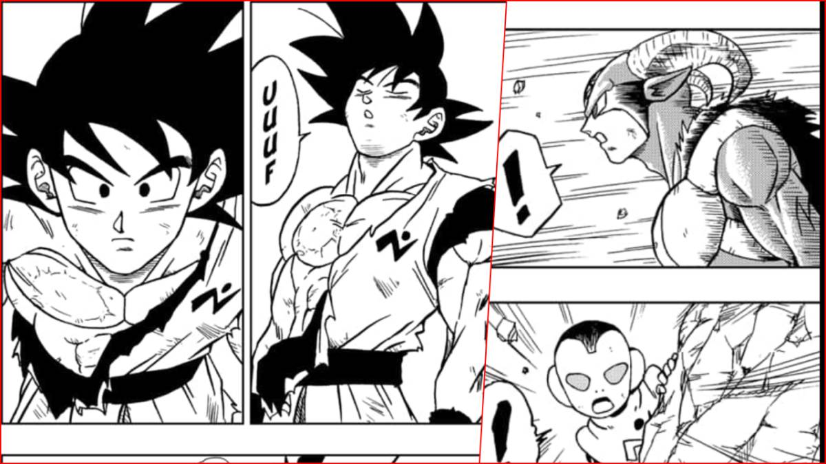 Dragon-Ball-Super-Manga, DBS, manga, Goku, Moro