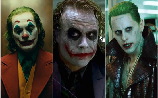 Mejor joker en el cine