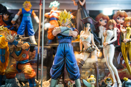 comprar figuras de anime
